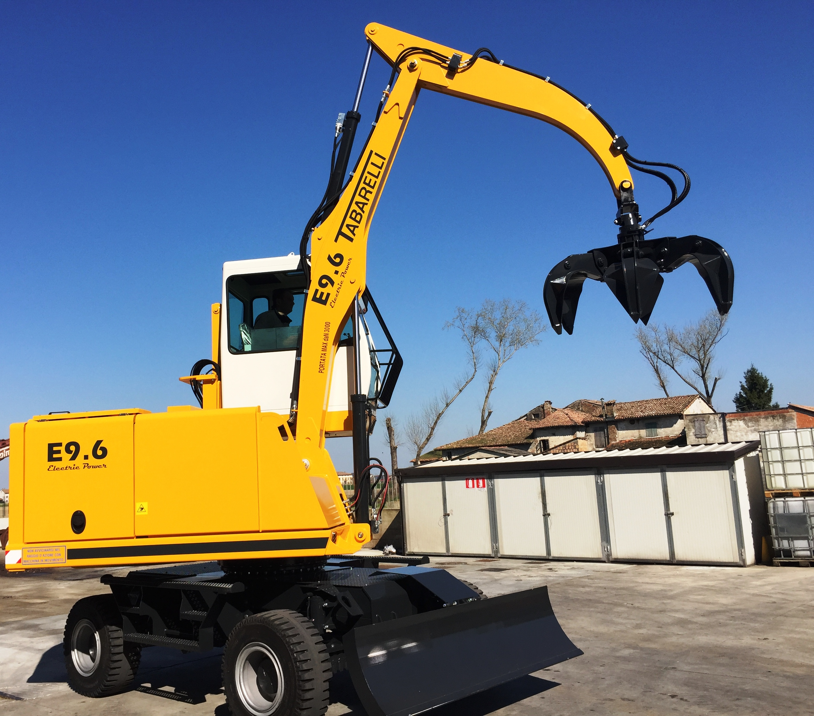 Electric loader tabarelli E9.6